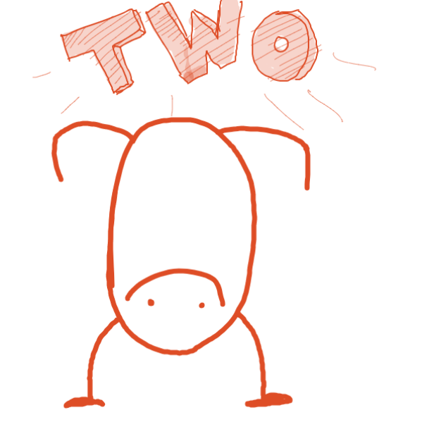 Drawing in Count to three by Aesthetic Bagel
