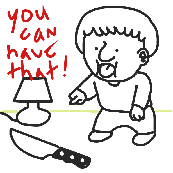 Liked webcomic He Offers You A Knife