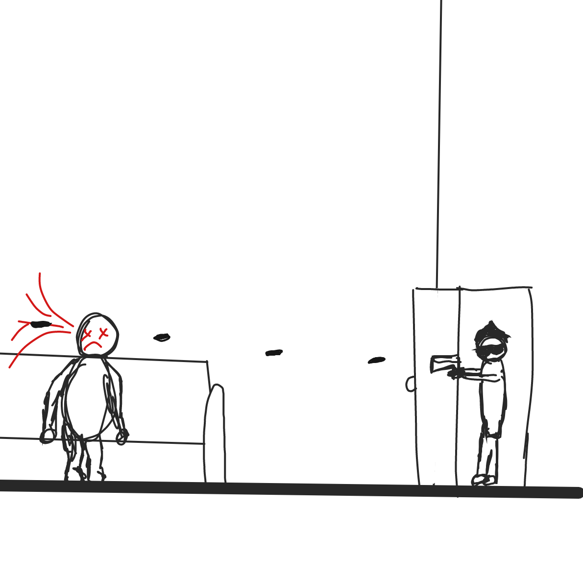 - Online Drawing Game Comic Strip Panel by James