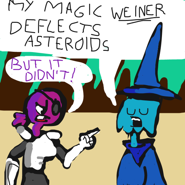 Drawing in Space Wizard Redux by Yntec