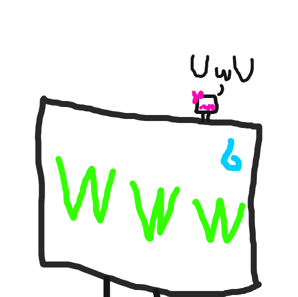Drawing in UwU by Meow the Fronk