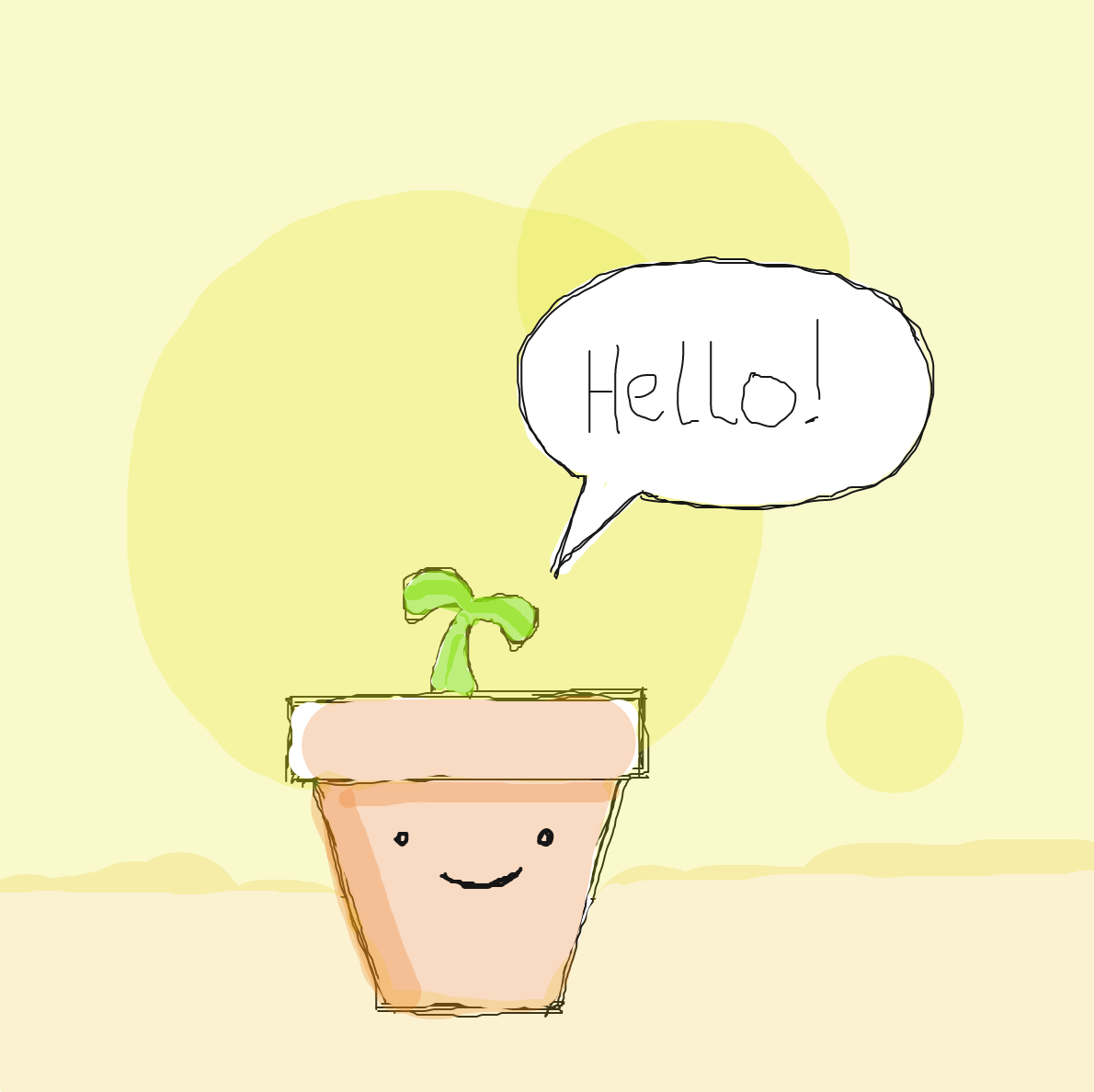 Drawing in GROWING PLANT by Miäääh!