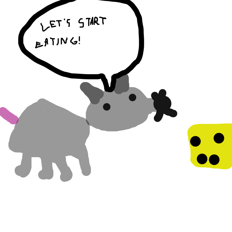 A mouse is going to enter the cheese! - Online Drawing Game Comic Strip Panel
