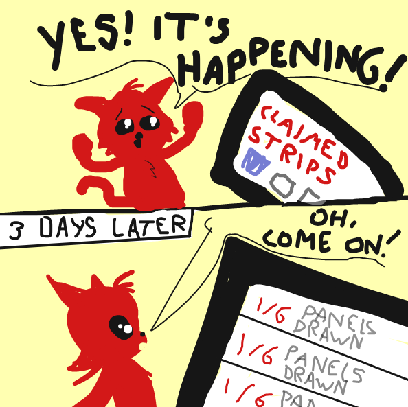 Liked webcomic What is happening?