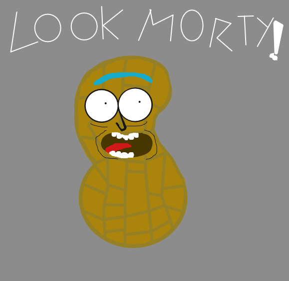 Next: I turned myself into a peanut Morty!