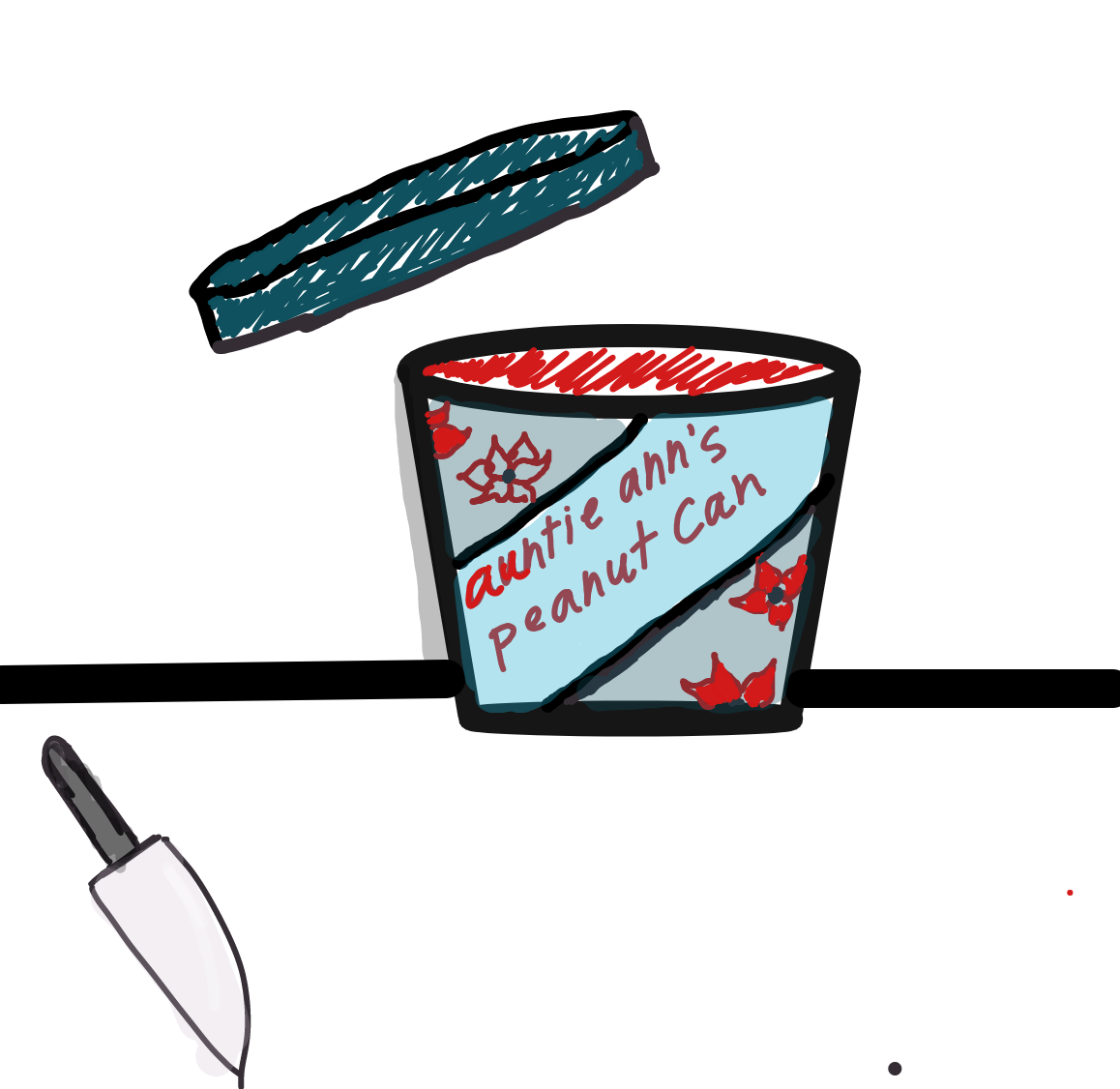 Liked webcomic What's inside the peanut can?
