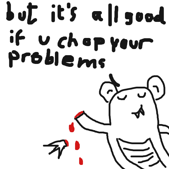globelschnortz finds a solution - Online Drawing Game Comic Strip Panel by Typical_Hetero_Human