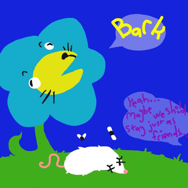 BORK - Online Drawing Game Comic Strip Panel by Jyke The Person
