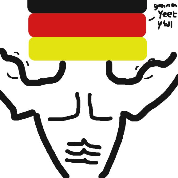 deutschland ftw - Online Drawing Game Comic Strip Panel by Typical_Hetero_Human
