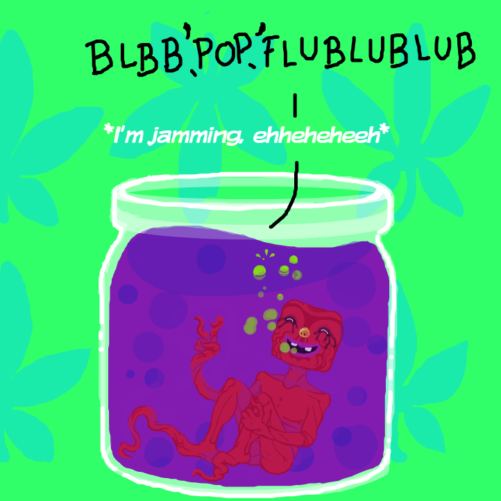 Oh god, it's assberry-jam. - Online Drawing Game Comic Strip Panel by Delete