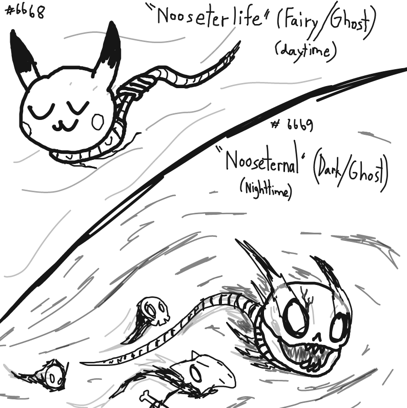 new pokemons leaked - Online Drawing Game Comic Strip Panel by Pannapple