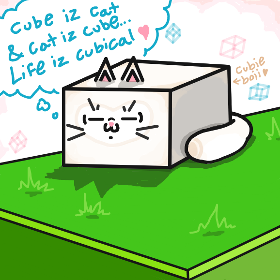 Liked webcomic Cube Cat