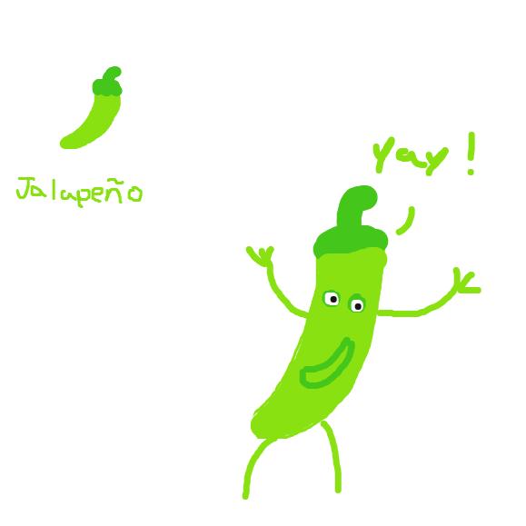 Jalapeño - Online Drawing Game Comic Strip Panel by Typical_Hetero_Human