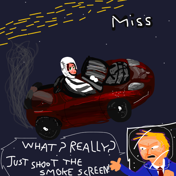Huh, no, no idea what I was supposed to do XD - Online Drawing Game Comic Strip Panel by Yntec