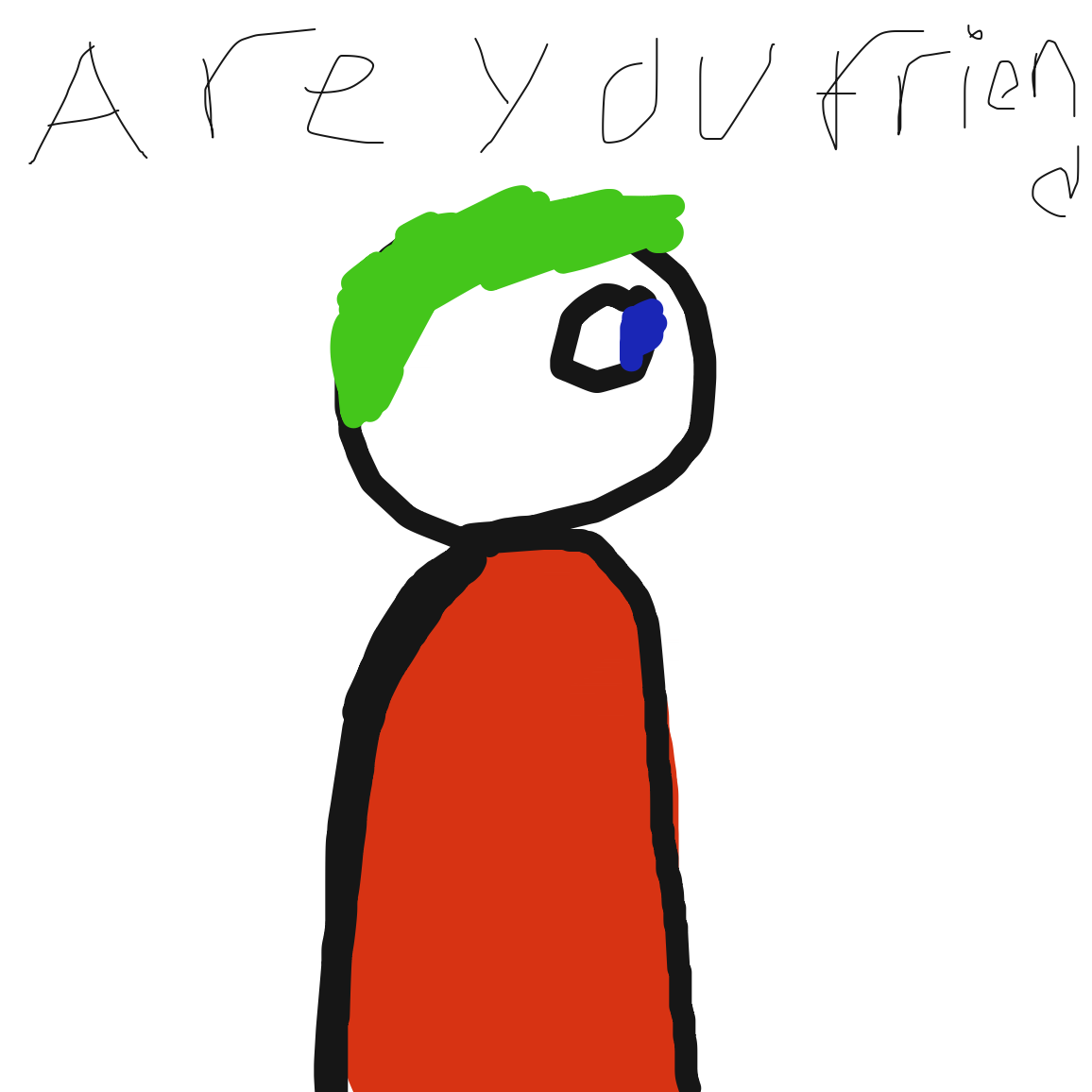 Drawing in Friend? by Nonexistent