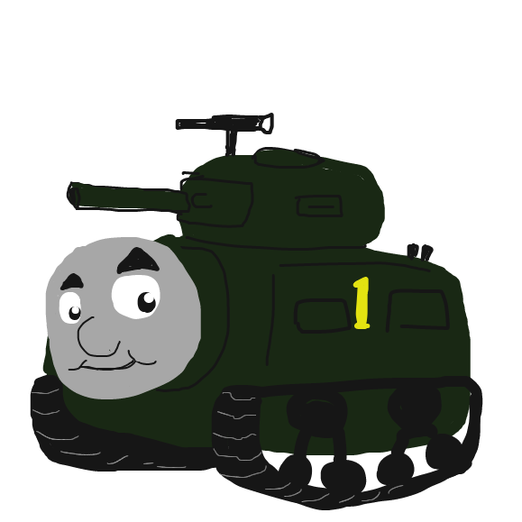 Liked webcomic Thomas Tank