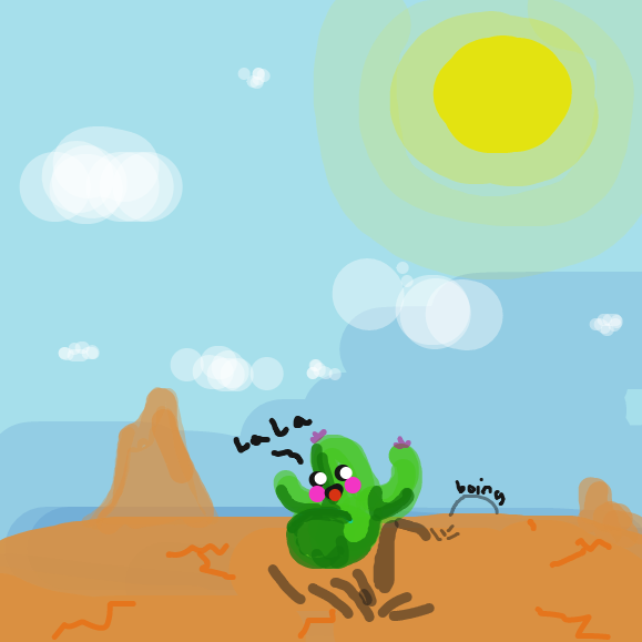 Liked webcomic Cactus adventure #1