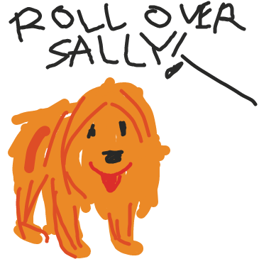 First panel in ROFL drawn in our free online drawing game
