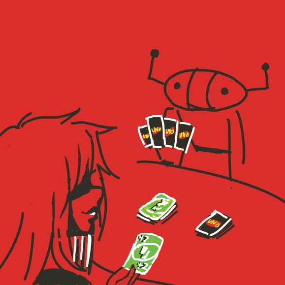 Drawing in uno by The_Silent_Artist