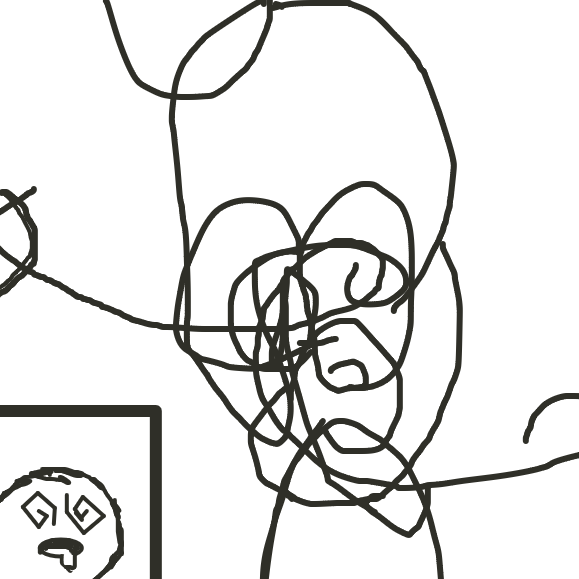 Sorry if I butchered it, my brain started to cause pain. - Online Drawing Game Comic Strip Panel