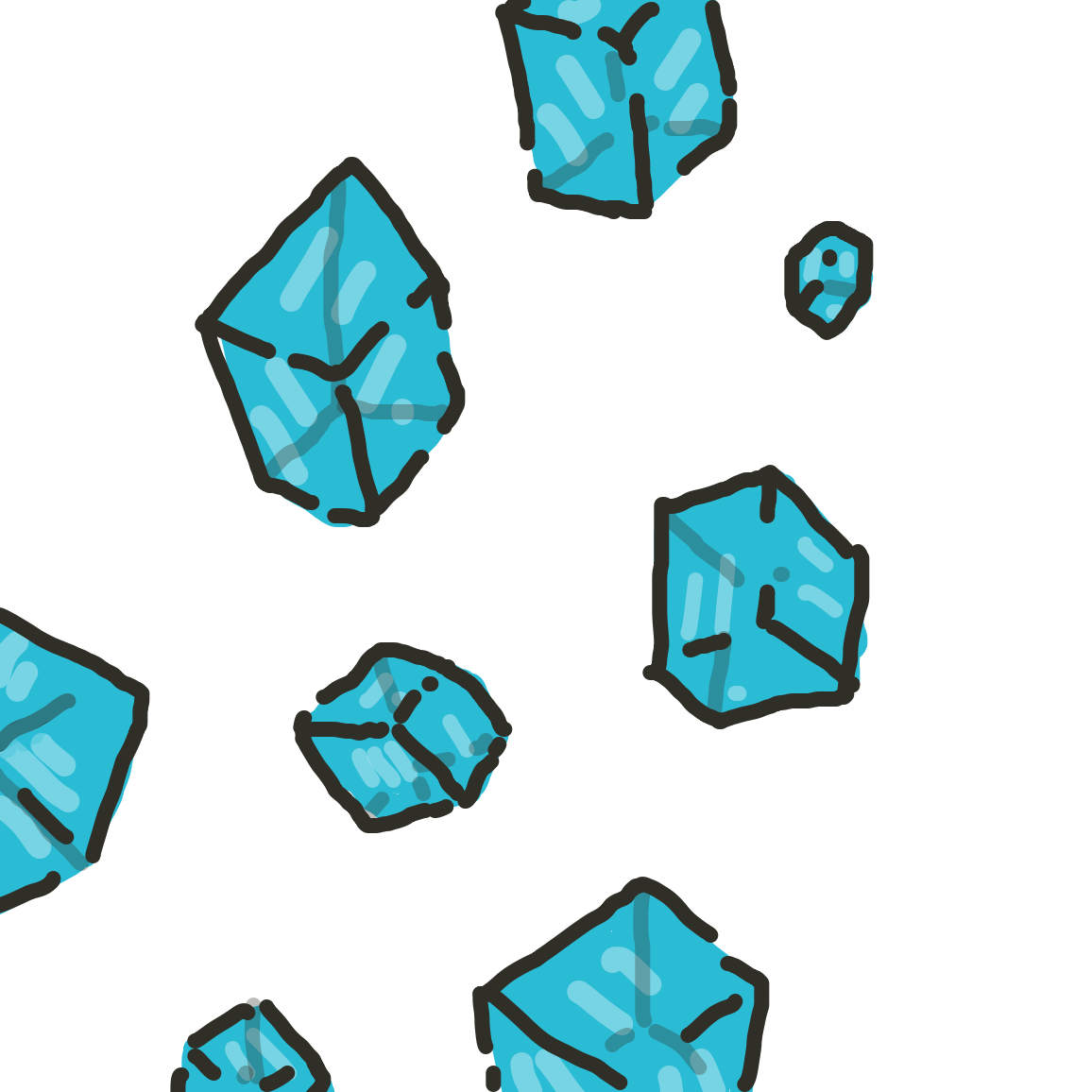 Drawing in Continue the Cubes! by joshyouart