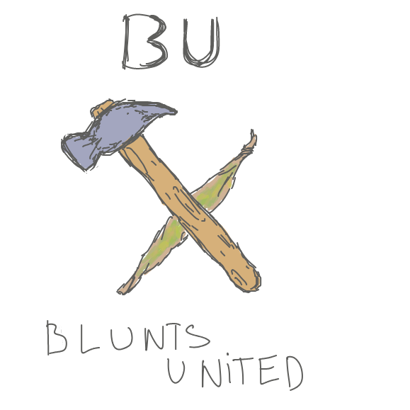 no idea what a blunt looks like and too lazy to search it up. - Online Drawing Game Comic Strip Panel by Robro