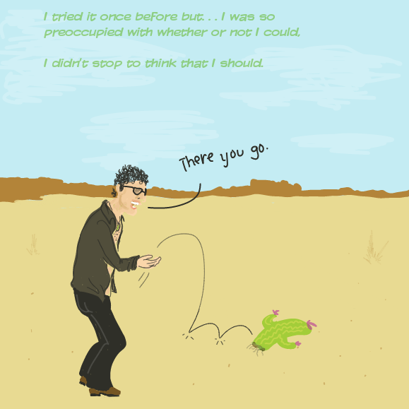 Drawing in Cactus Adventure #2 by WizardCroissant