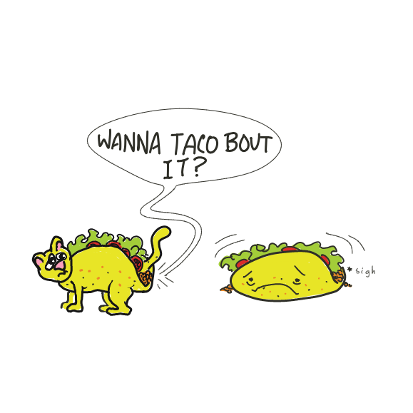 Drawing in This is not a Taco  by WizardCroissant