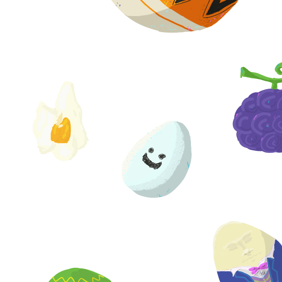 Drawing in Continue the eggs! by Robro