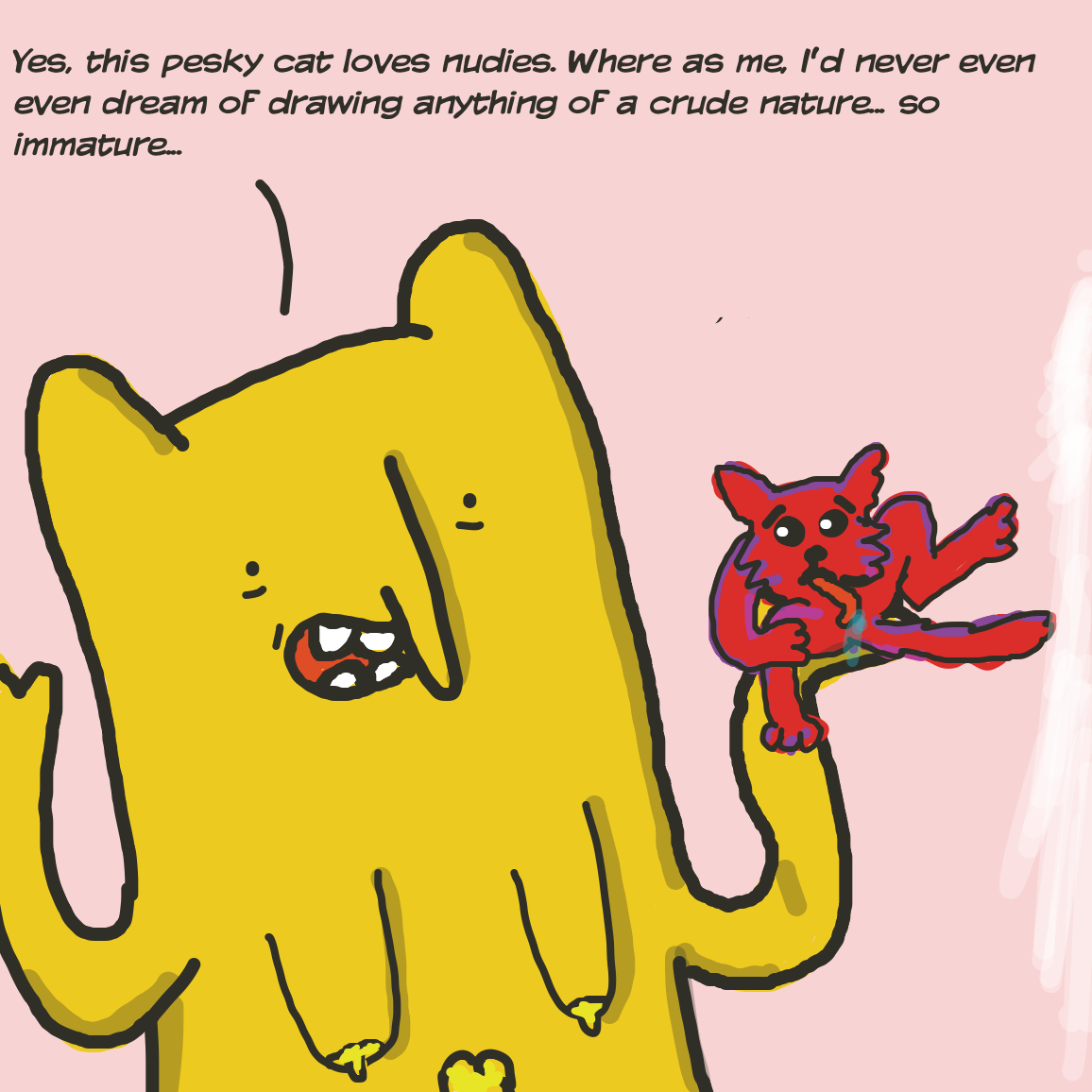 - Online Drawing Game Comic Strip Panel by joshyouart