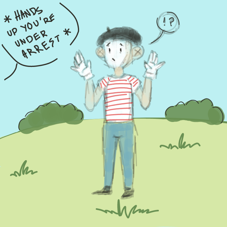 *!?* *pourquoi?* - Online Drawing Game Comic Strip Panel by EdamameBean
