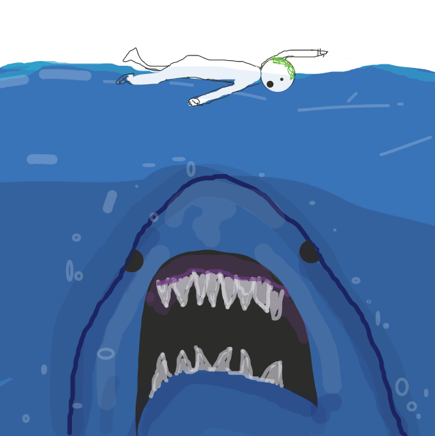 Liked webcomic Big angry fish film