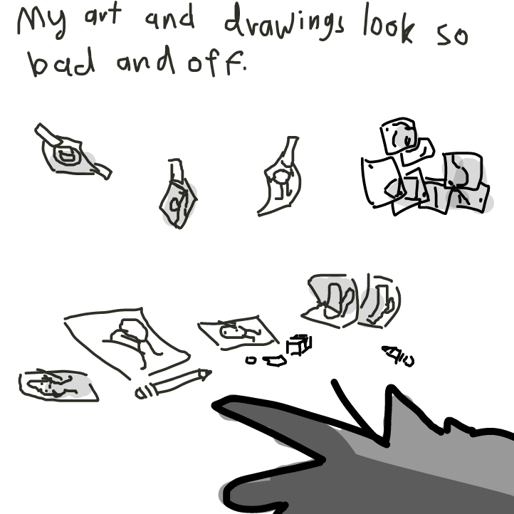 sad sonic artist? - Online Drawing Game Comic Strip Panel by KringlePringles