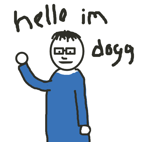 Drawing in Helo by Dogg