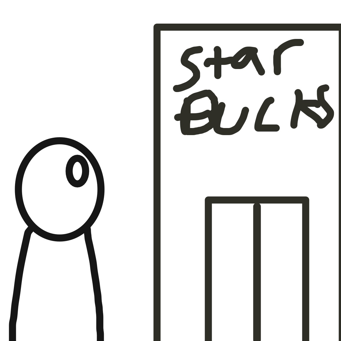 Fuck it star bucks it is - Online Drawing Game Comic Strip Panel by Jack
