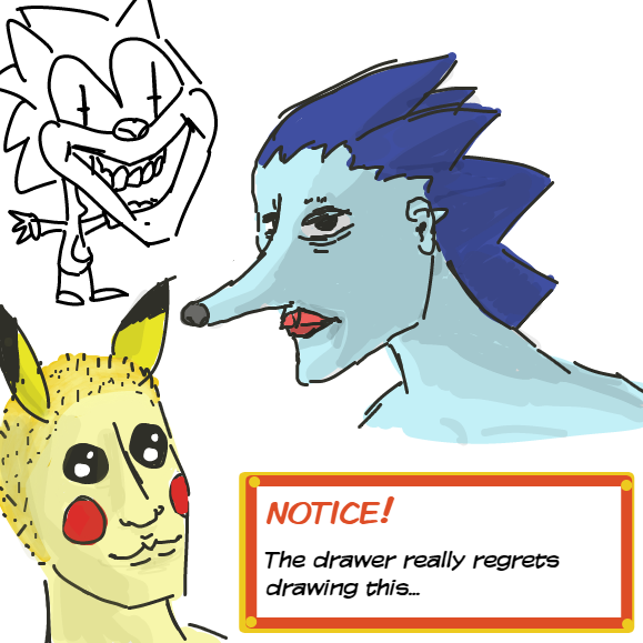 sorry. It was really hard to actually make myself post this - Online Drawing Game Comic Strip Panel by Robro