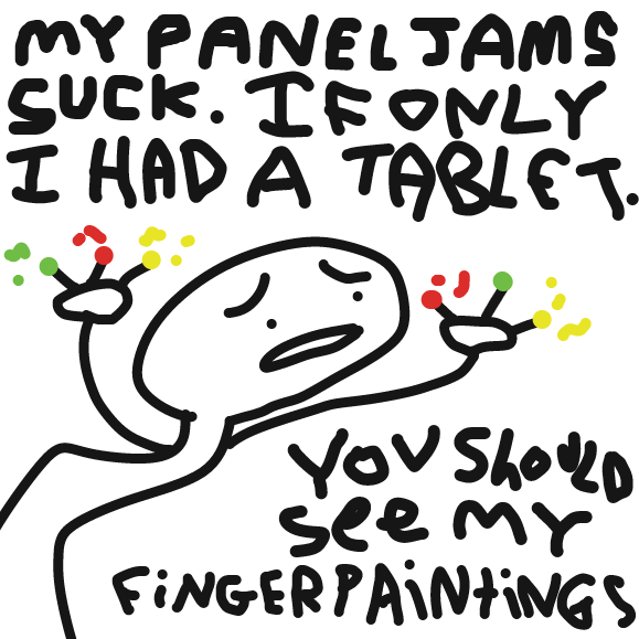 - Online Drawing Game Comic Strip Panel by andyboo