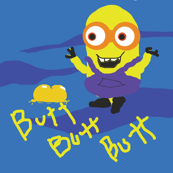 A wild Minion has appear - Online Drawing Game Comic Strip Panel by Kapes
