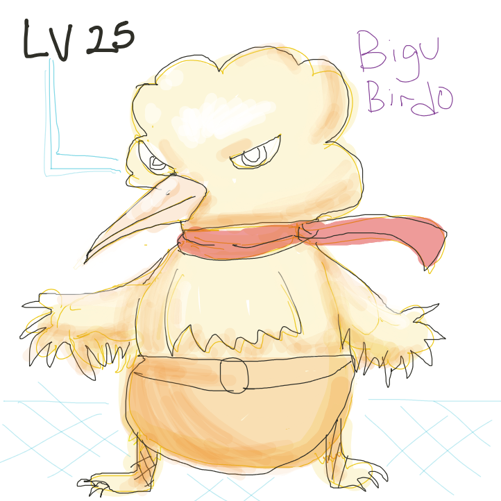 Bird has eveloved to  BIGo BIRDo - Online Drawing Game Comic Strip Panel by kurocartoonist