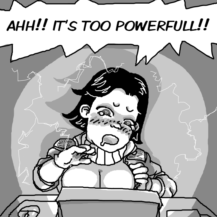 Why?? Why didn't she listen to the professor!! Shes doomed! - Online Drawing Game Comic Strip Panel by Delete