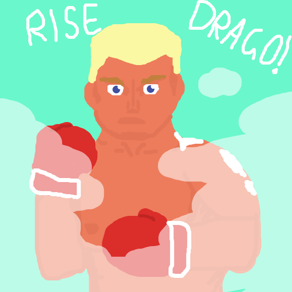 Hope ya'll like Rocky 4 - Online Drawing Game Comic Strip Panel by Just Alex