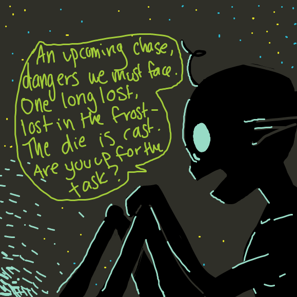 time for a journey - Online Drawing Game Comic Strip Panel by polar