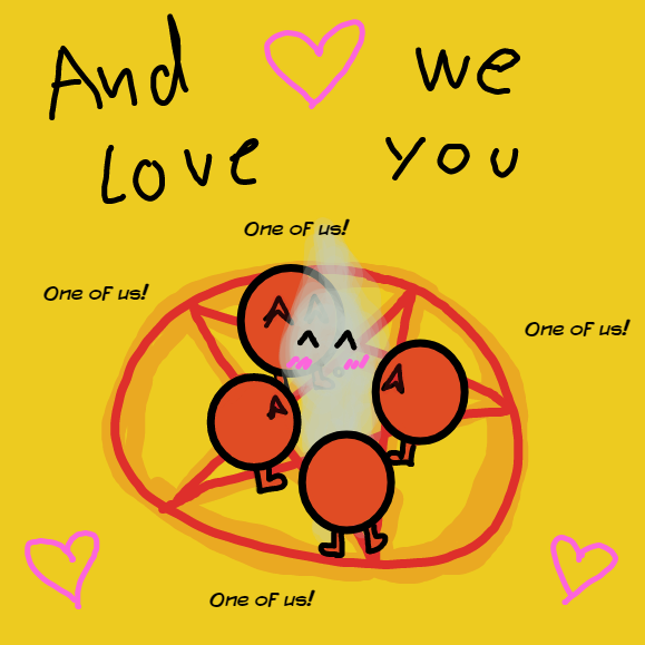 Your soul us the best soul <3 - Online Drawing Game Comic Strip Panel by YellowSheep