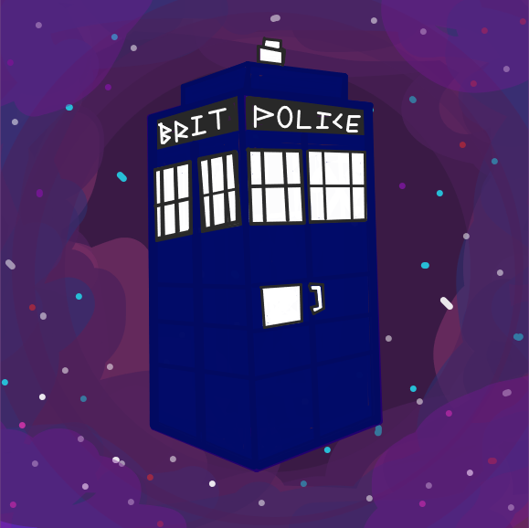 Drawing in The New Adventures Of The Doctor by Freezershadow51