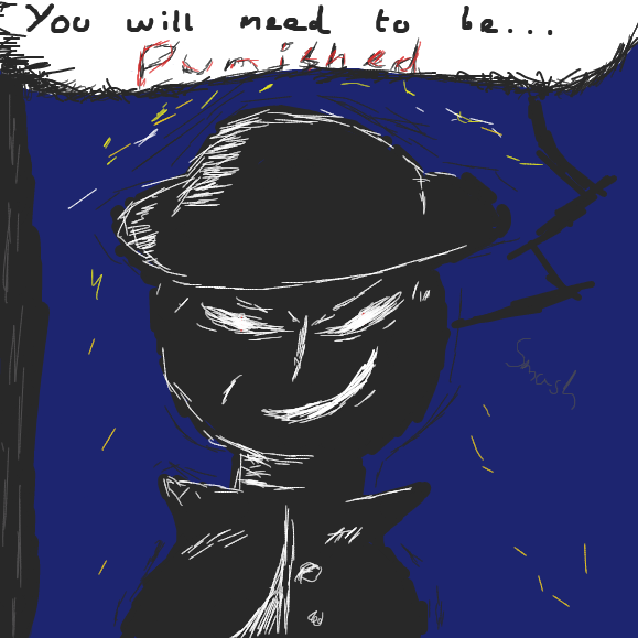 You will need to be... punished - Online Drawing Game Comic Strip Panel by Void-God