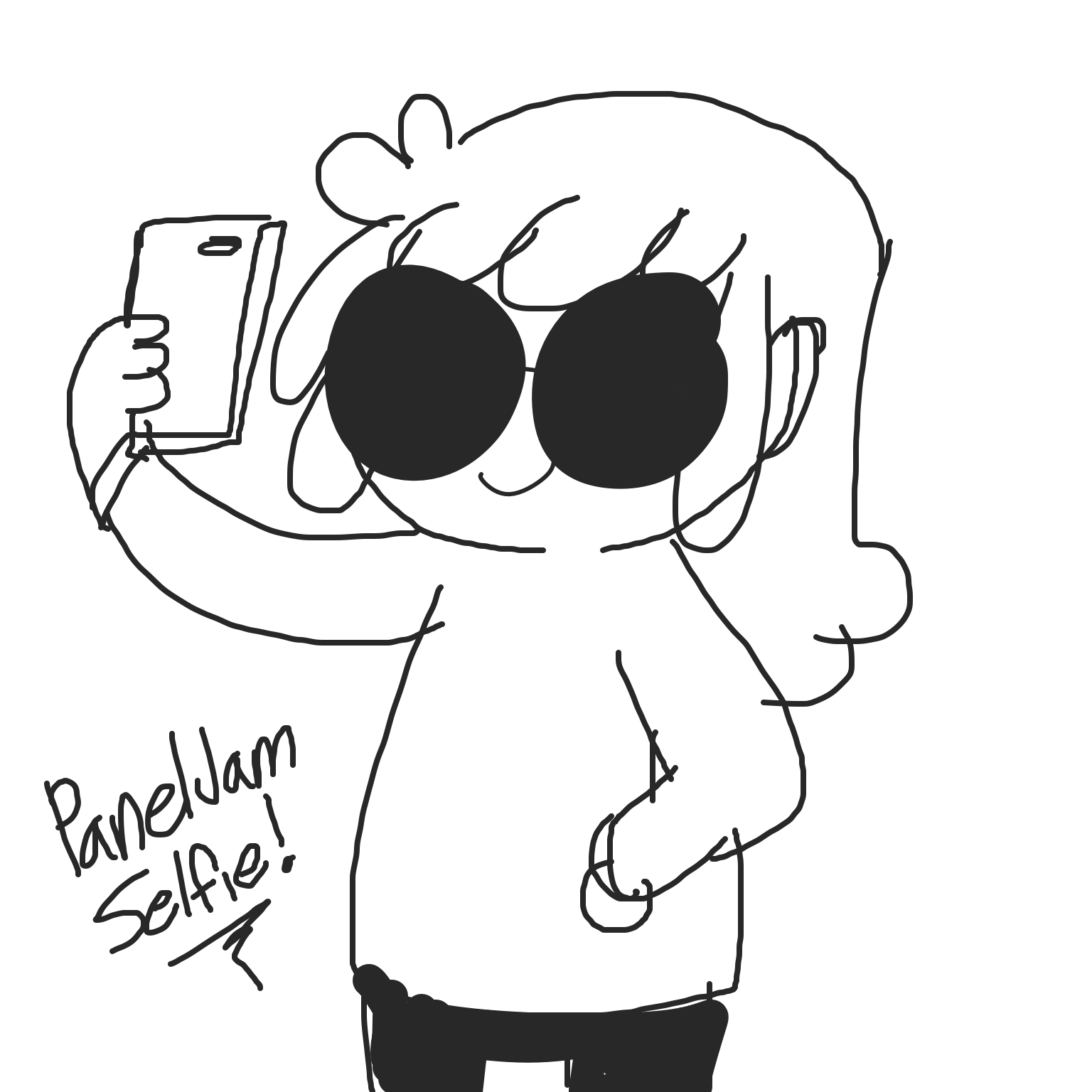 Liked webcomic Let's take a selfie!