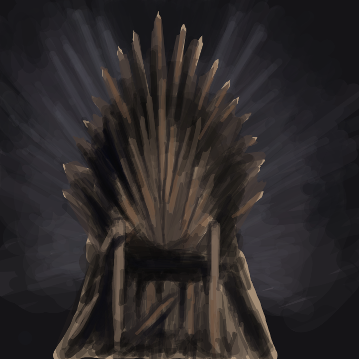 Drawing in Gane of Thrones spoiler by Tyra004