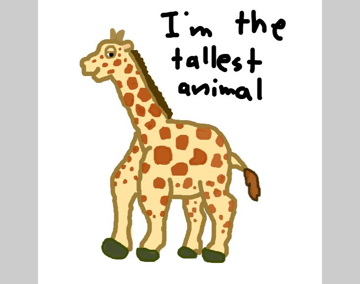 Drawing in George Giraffe by SteliosPapas