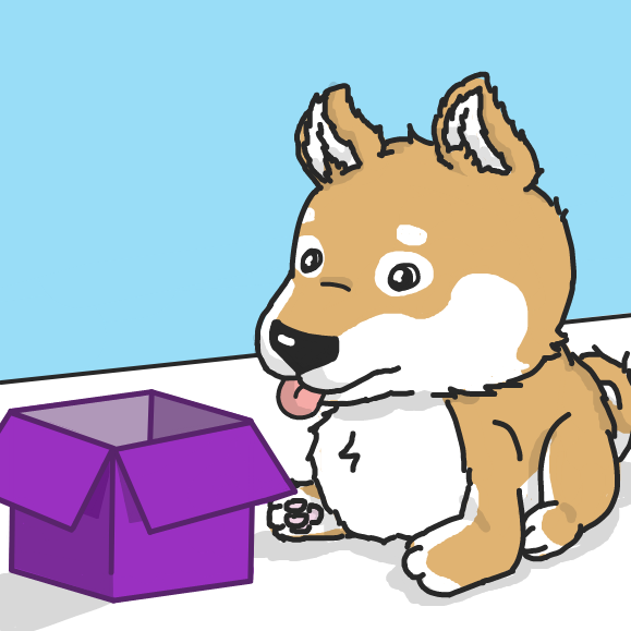 First panel in Doge Go Schloof drawn in our free online drawing game