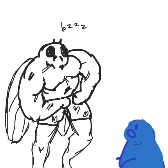 What will Frody do? he has a fly in his sights. Is this task too tall for our hero? Find out next time on Dragon Ball Z. - Online Drawing Game Comic Strip Panel by sircirno